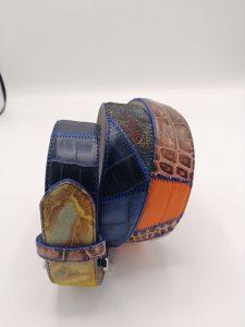 Patchwork color belt