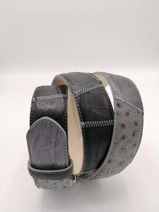Dark Patchwork belt