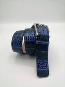 Quadri jeans col.7 Patchwork belt