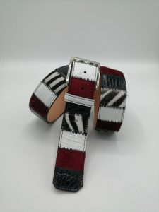 Horse col.106 Patchwork belt