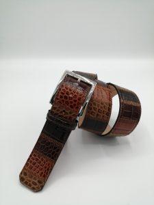 Quadri Natural col.6 Patchwork belt