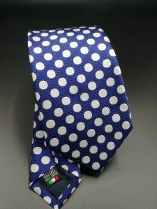 Cravatta stampa pois