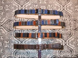 Patchwork square belts