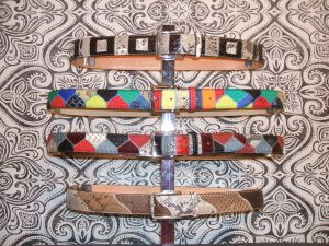 Pyton Patchwork belts