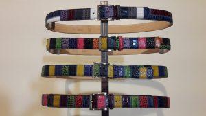 Patchwork color belts